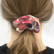 Scrunchie - Multi flower