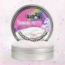 Thinking Putty, Enchanting Unicorn - Självlysande lera