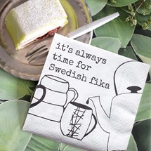 Kaffeservetter - Swedish Fika