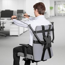 Monterbart hemmagym - Chair gym