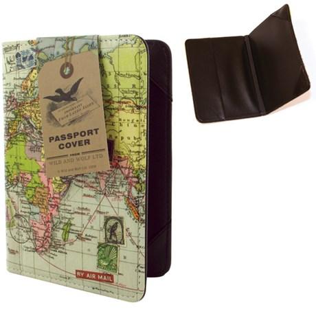 Resetillbehör - Karta, Passfodral