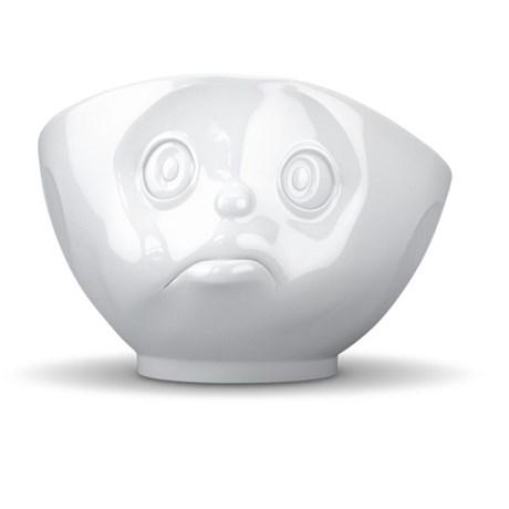 Porslinsskål med ansikte, Tjurande