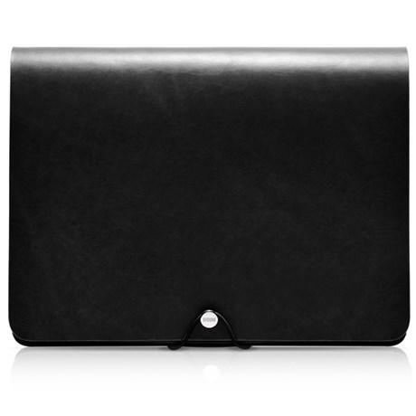 Evouni - Fodral iPad, läder, Svart