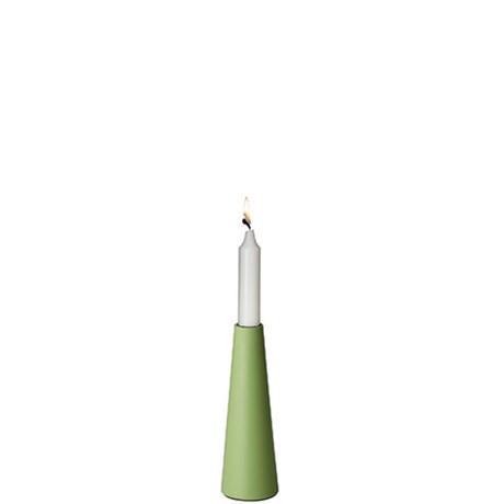 Ljusstake - Siesta, Meadow green 18 cm