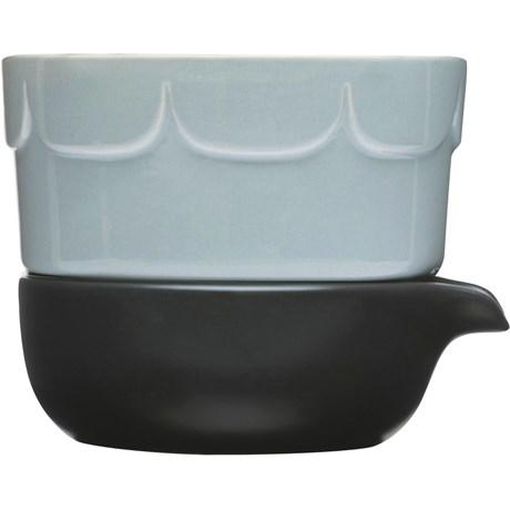 Sagaform - 2-delad odlingskruka, Ljusblå