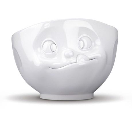 Porslinsskål med ansikte, Mumsande