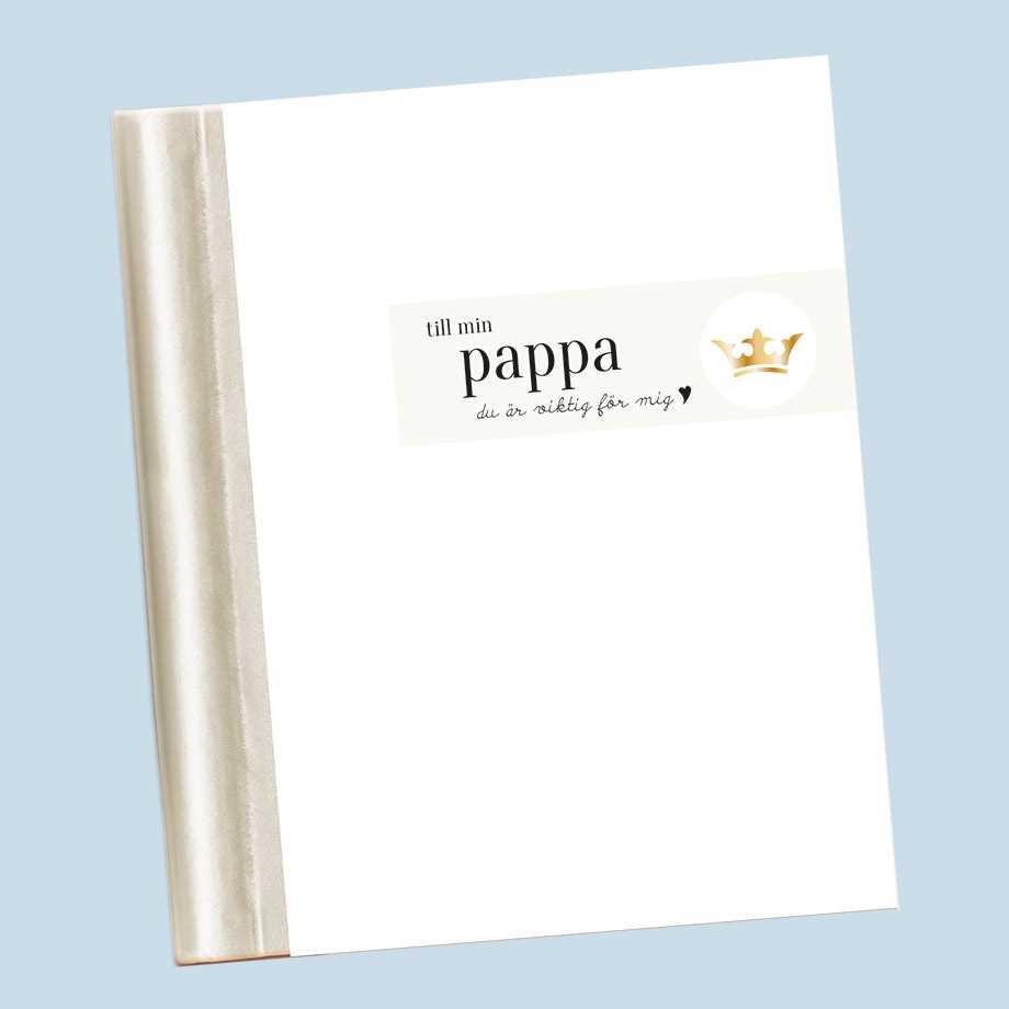 Fyll-i-bok, Till min pappa Image