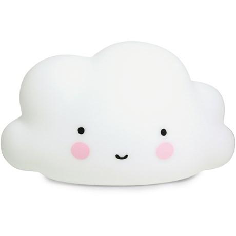 Molnlampa - A Little Lovely Cloud Light, Vit - stor