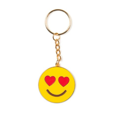 Nyckelring - Emoji, In love