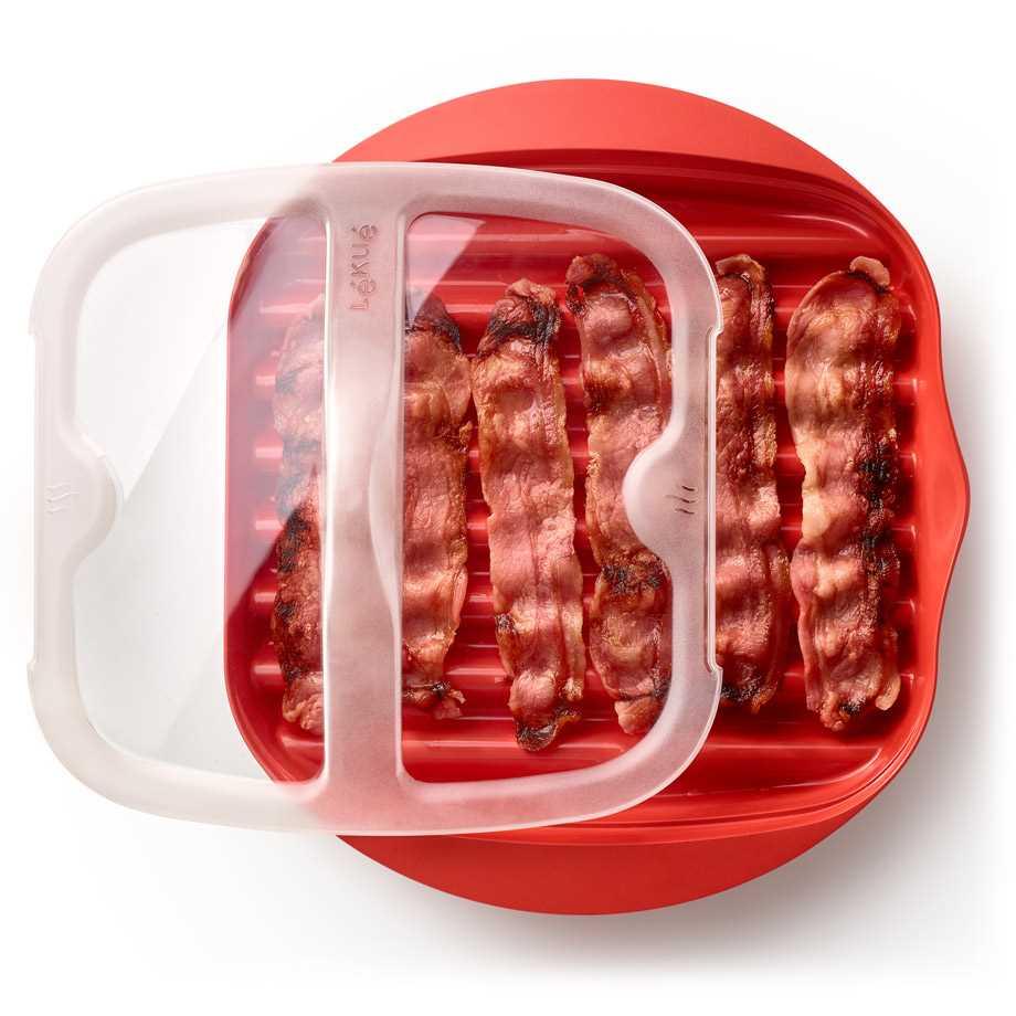 Bacon Cooker för mikrovågsugn Image