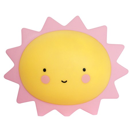 Dekorlampa - Sol / Måne, Sol