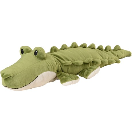 Vetevärmare - Vilda gosedjur, Warmies®, Krokodil