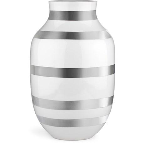 Omaggio vas, stor silver - Kähler, Silver