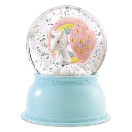 Nattlampa - Snöglob, Unicorn