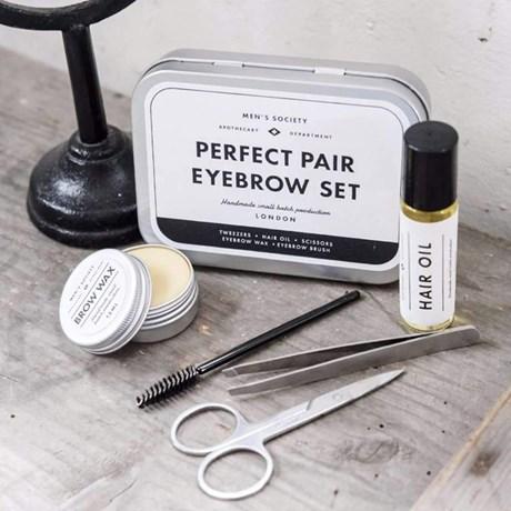 Grooming-kit, herr - Ögonbryn, Silver