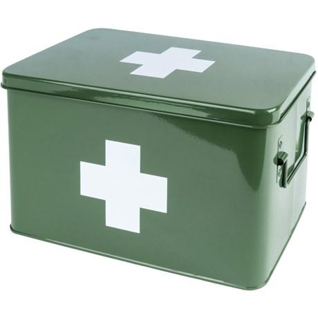 Medicinlåda - Grön, Large