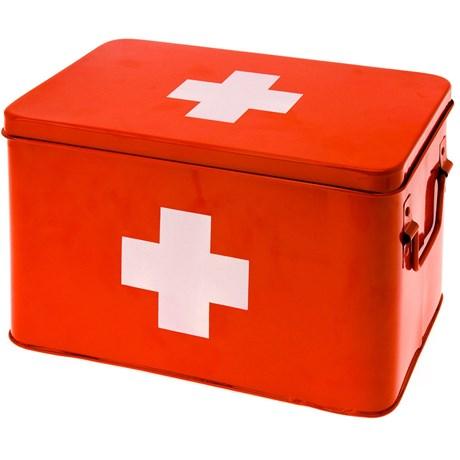 Medicinlåda - Röd, Large