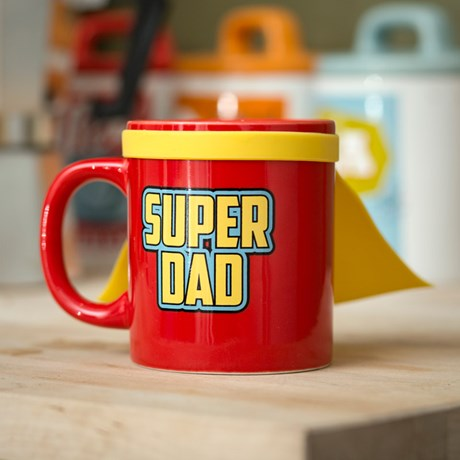 Mugg med cape - Super Dad