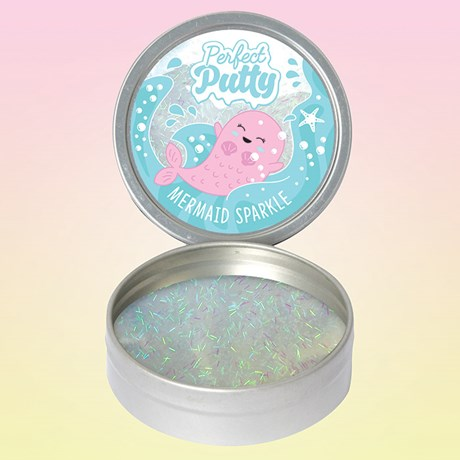 Mermaid Putty - Glitterlera, Multi
