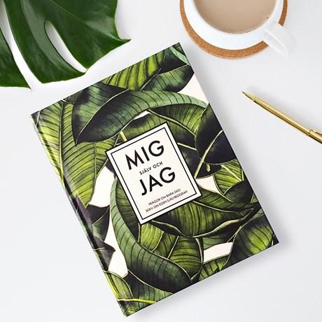Fyll-i-bok - Mig själv och jag, Grön