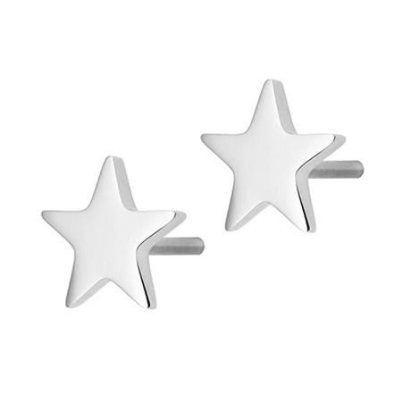 Örhängen Sirius, stjärna - Edblad, Stål