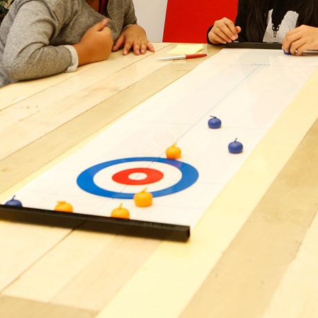 Bordscurling - Curling i miniformat!