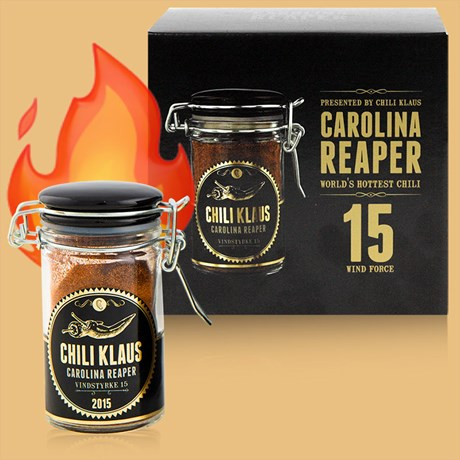 Chili Klaus - Chilipulver, Carolina Reaper (Limited edition)