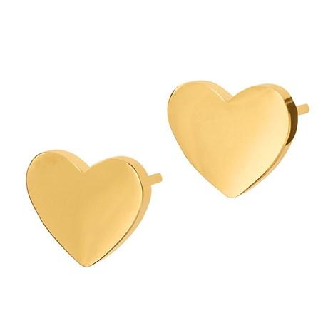 Örhängen Pure Heart, hjärta - Edblad, Guld