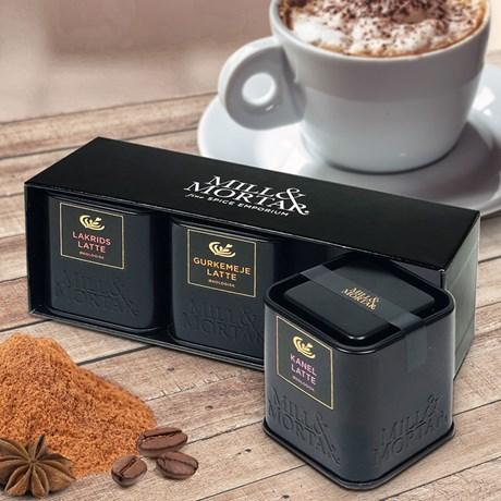 Lattekryddor set: Lakrits, Gurkmeja & Kanel, 3-pack