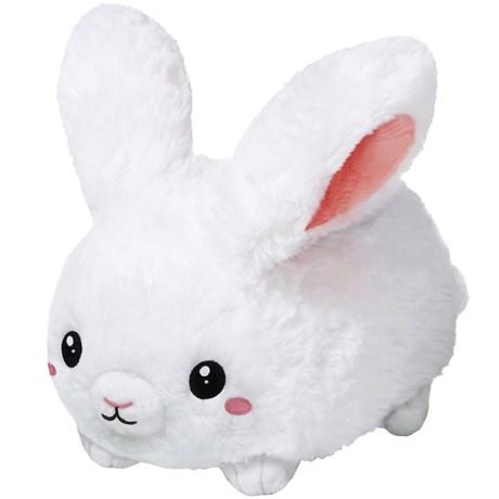 Squishable Gosedjur - Fluffig kanin, vit, Liten