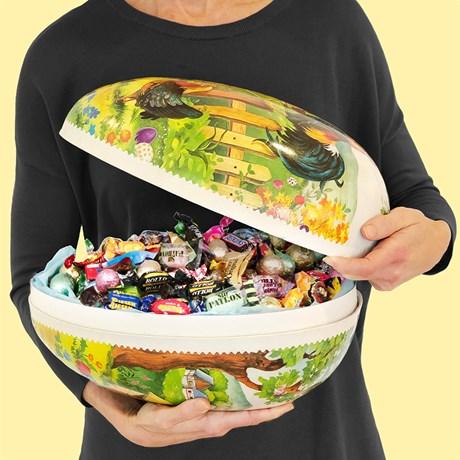 Gigantic Easter egg - 3 kg candy