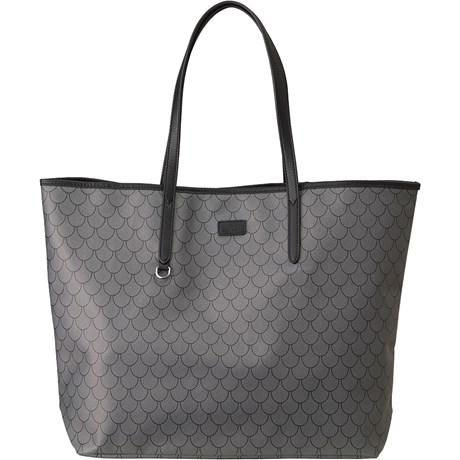 Edblad - Evelyn Shopper Bag Tiles, Clay, Grå
