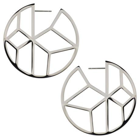 Edblad - Örhängen, Shirin Steel, Stål