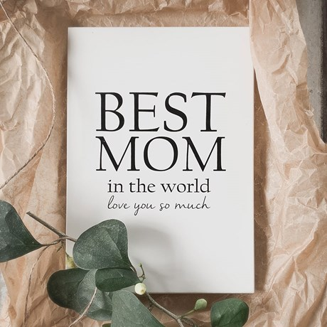 Citattavla - Best mom in the world