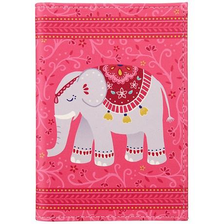Resetillbehör - Mandala Elefant, Passfodral