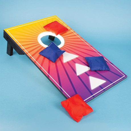 Utomhuslek - Bean Bag Toss med LED-belysning, Multi