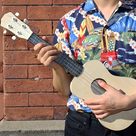 DIY - Gör din egen ukulele, Trä