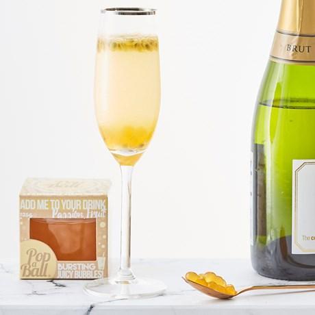 Drinkbubblor - Passionsfrukt, 125g