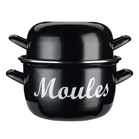 Musselgryta med lock - Moules