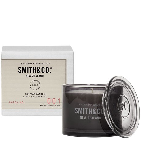 Doftljus - Tabac & Cedarwood, Smith & Co