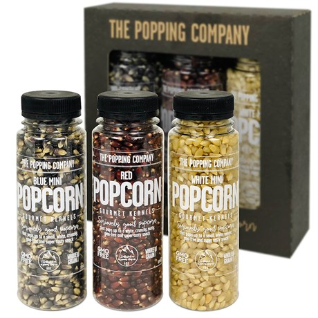 Popcorn set - The Popping Company (3-pack)
