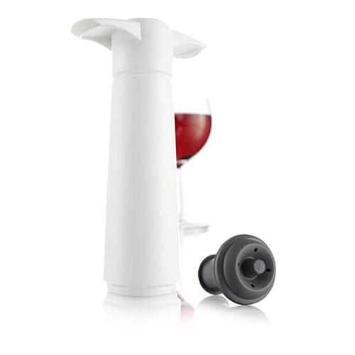 Vakuumpump - Wine Saver, Vit med 1st vinpropp