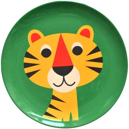 Melamintallrik - Djur, Tiger