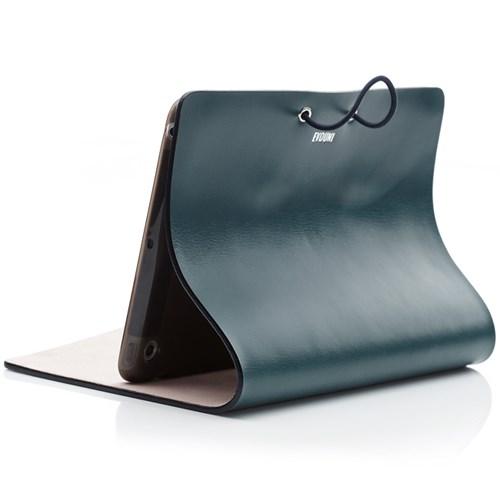 Evouni - Fodral för iPad Mini, läder, Blå