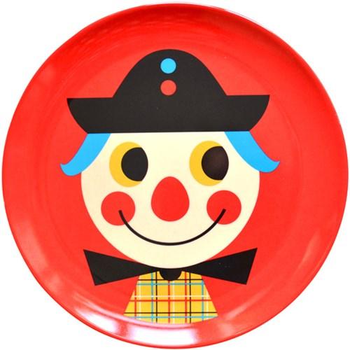 Melamintallrik - Djur, Clown
