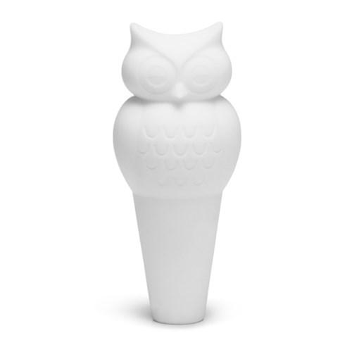 Flaskpropp - Uggla, Vit