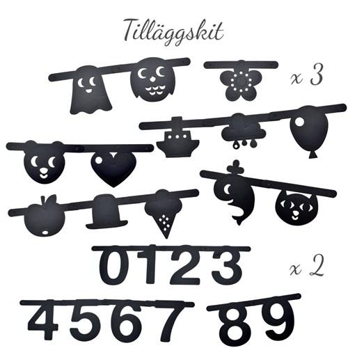 Bokstavsbanner - Gör en girlang med bokstäver!, Symboler & siffror