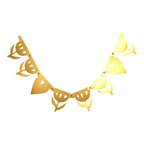 Bokstavsbanner - A little Lovely banner, tillägg, Guld