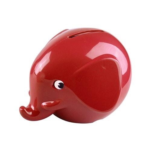 Norsu - Elefantsparbössa, liten, Röd