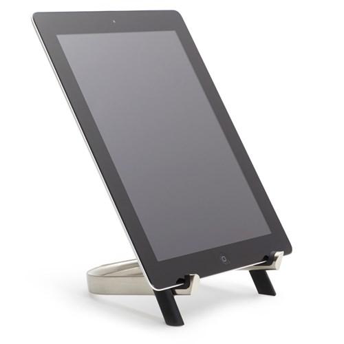 iPadställ - Udock, Silver